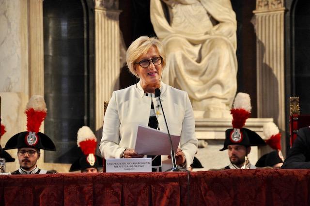 Tiziana Tombesi, Vice prefetto reggente di Firenze