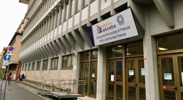 L'ufficio provinciale di Firenze dell'Agenzia delle Entrate