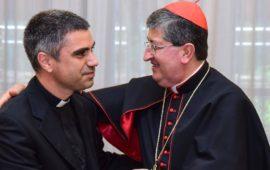 Il cardinale Giuseppe Betori e don Antonino Pozzo