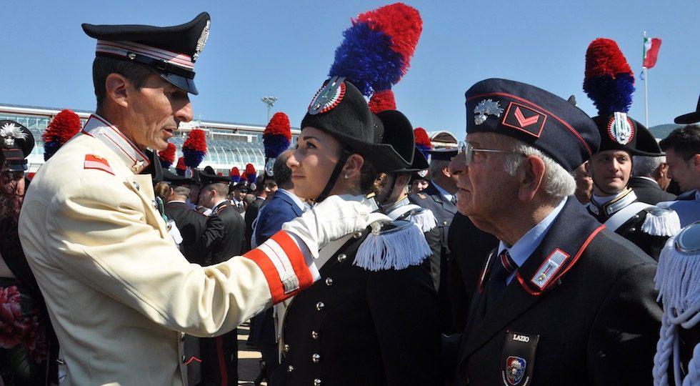 Scuola Marescialli Carabinieri 2018, orgoglio e commozione alla consegna degli alamari (VIDEO-FOTO)