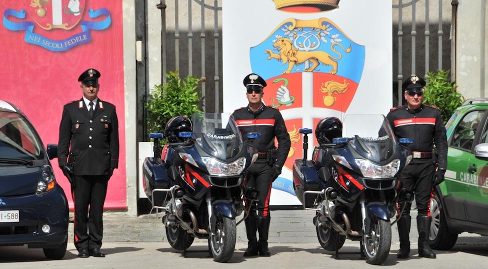 Carabinieri del Comando provinciale di Lucca alla Festa dell'Arma 2018