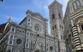La cattedrale di Santa Maria del Fiore a Firenze