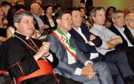 Il cardinale Betori con i sindaci di Firenze Nardella, Renzi. Domenici, Primicerio e Morales