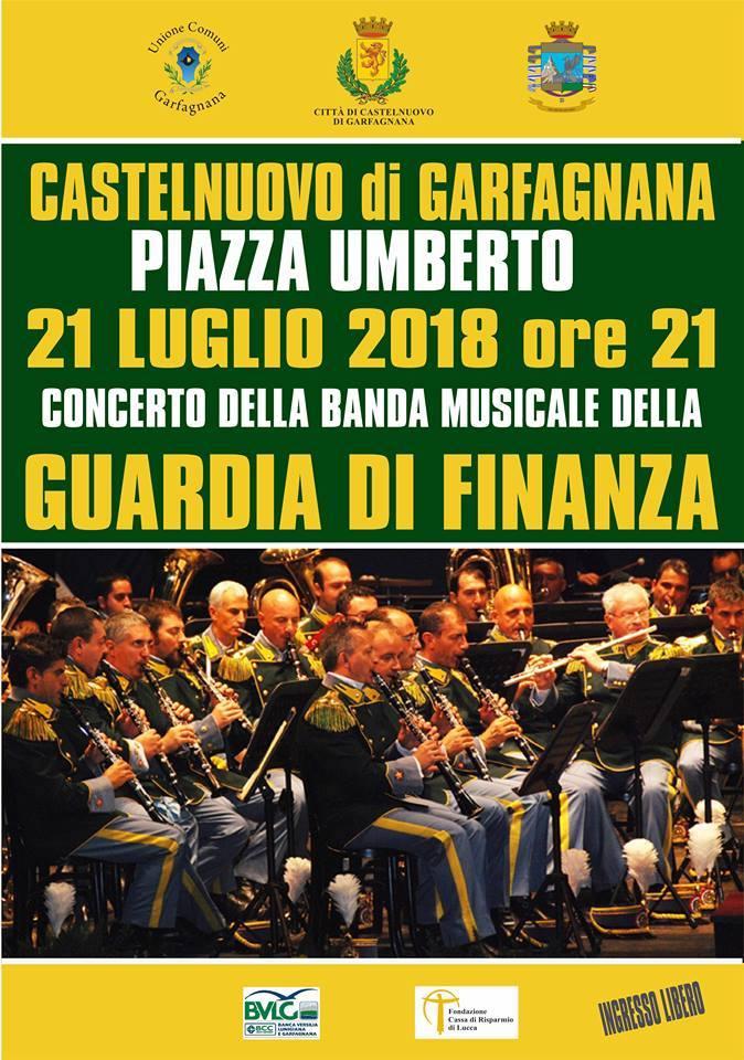 Banda Musicale Guardia di Finanza in concerto