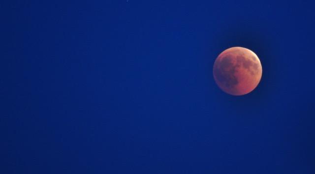 """La Luna """"rossa"""""""