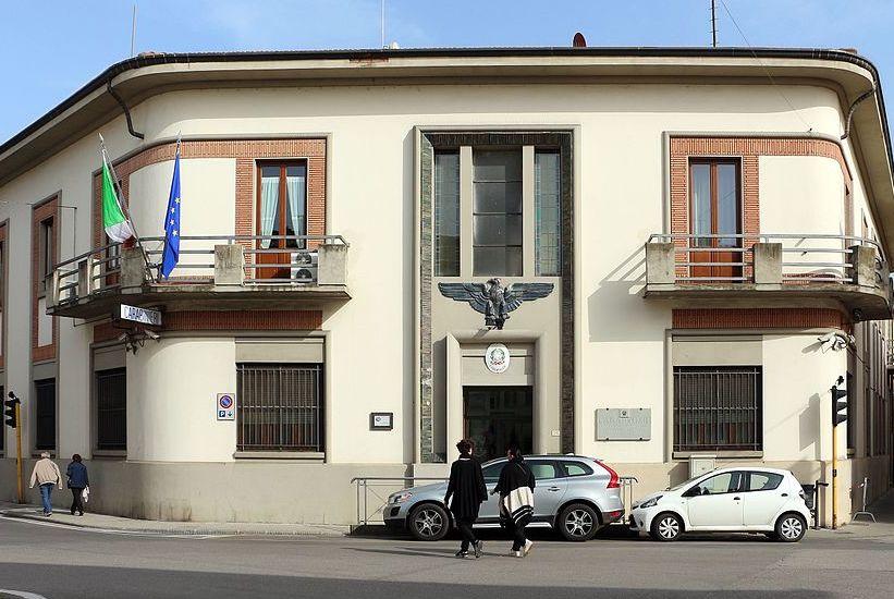 Il comando dei Carabinieri a Borgo San Lorenzo
