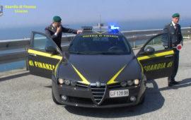 Una pattuglia della Guardia di Finanza di Livorno