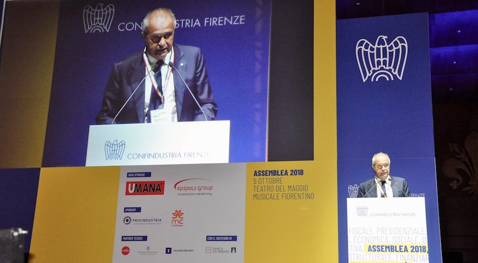 Luigi Salvadori, presidente di Confindustria Firenze