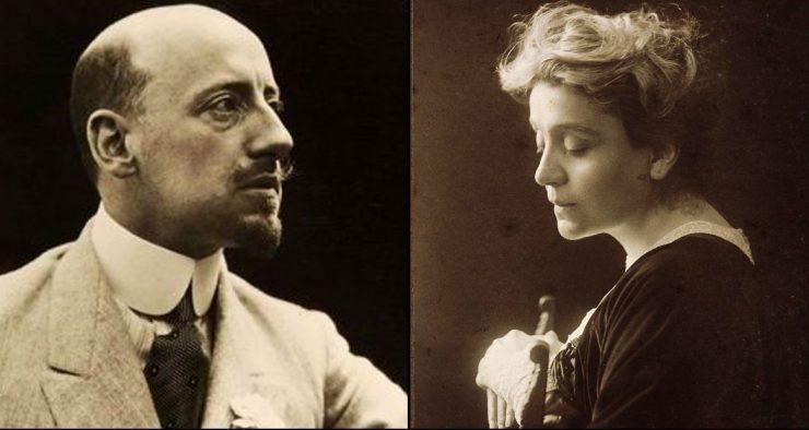 Gabriele D'Annunzio ed Eleonora Duse