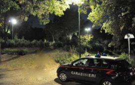 Nuovi lampioni nel giardino della Montagnola all'Isolotto
