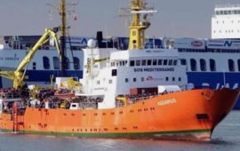 Nave Aquarius è sotto sequestro