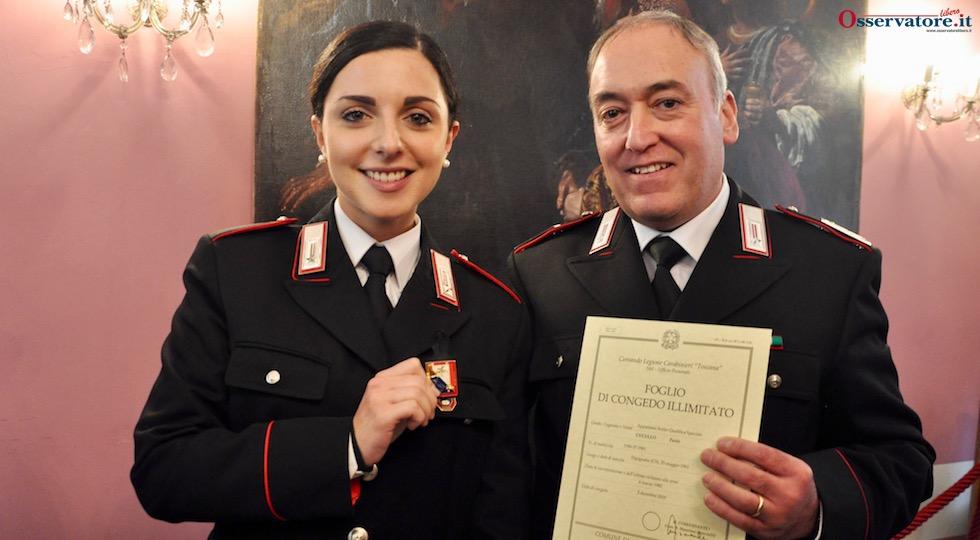 Due generazioni di Carabinieri si sono appena dati le consegne alla Legione Toscana