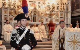 Il cardinale Giuseppe Betori alla celebrazione della Virgo FIdelis 2018