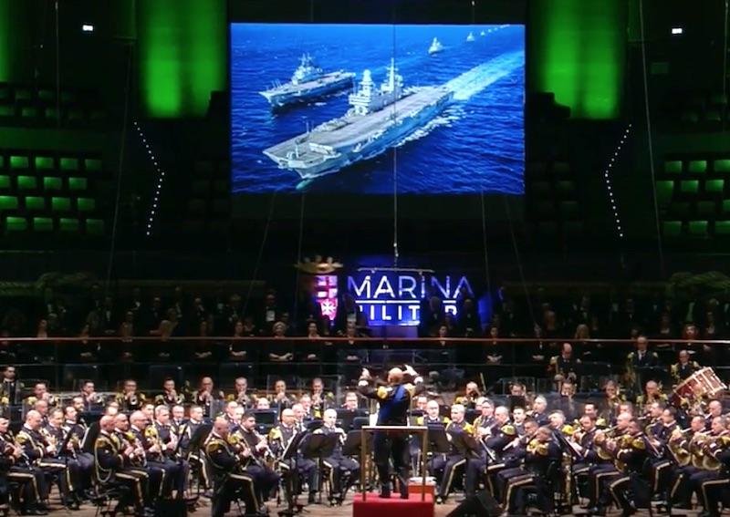 Il concerto 2018 della Marina all'Auditorium della Musica