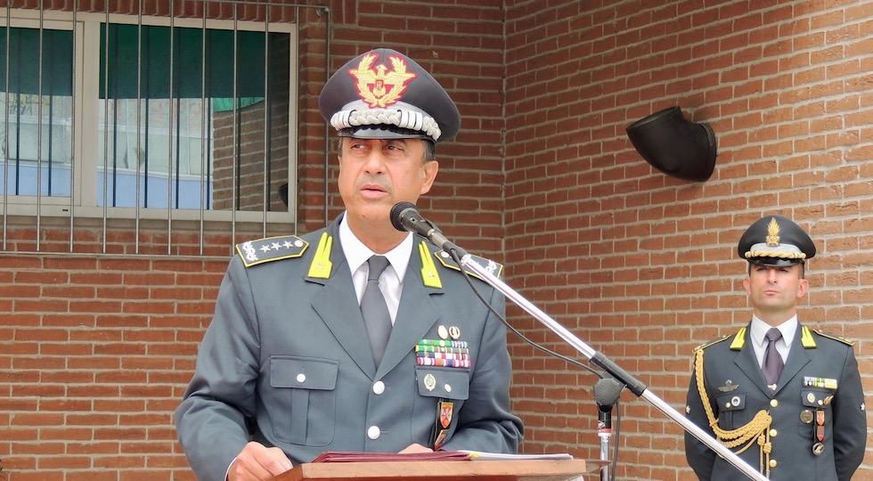 Generale Edoardo Valente. nuovo Comandante in Seconda della Guardia di Finanza