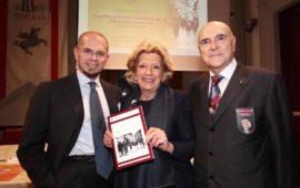 La famiglia Tinti : da sin. Daniele, Graziella e Sergio Tinti