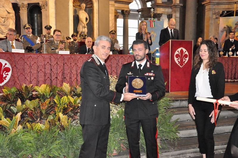Vice Brigadiere Eugenio Sturniolo (a destra)