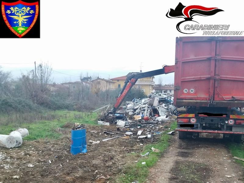 Avviato lo smaltimento delle prime 12 tonnellate di rifiuti