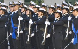 Hanno giurato gli allievi del 1° anno dell'Accademia Navale