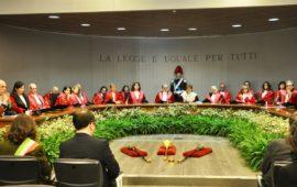 La cerimonia d'inaugurazione dell'anno giudiziario 2019 a Firenze