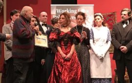 La premiazione di una edizione di Teatrotary