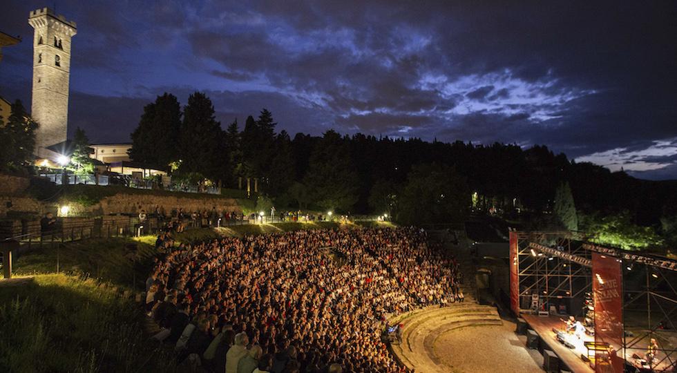 Uno spettacolo di Estate Fiesolana al Teatro Romano (foto concessa da Estate Fiesolana credit Marco Borrelli)