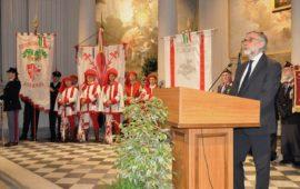 Il questore di Firenze Nanai alla Festa della Polizia 2019
