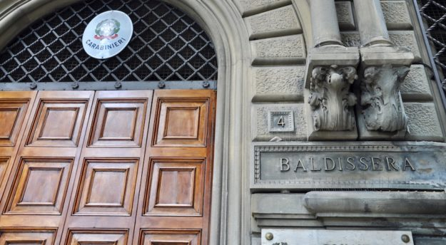 La caserma Baldissera a Firenze