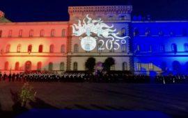 La caserma Baldissera a Firenze durante il 205° anniversario dell'Arma dei Carabinieri