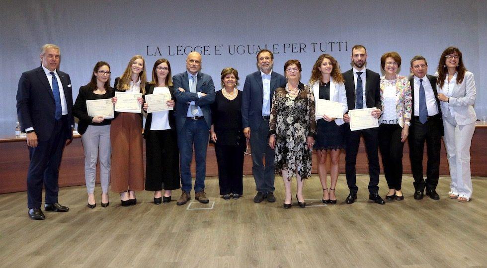 Firenze, consegnati a 5 neolaureati i premi Tindari Baglione 2019