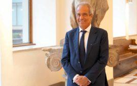 Luigi Salvadori appena eletto presidente della Fondazione CR Firenze