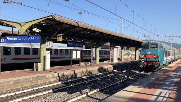 L'arresto è avvenuto alla stazione di Firenze Campo Marte