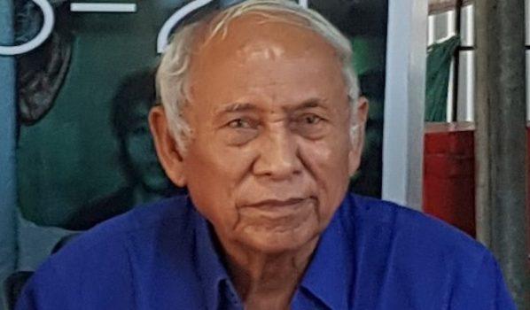 Chum Mey, 89 anni al museo del genocidio a Phnom Penh