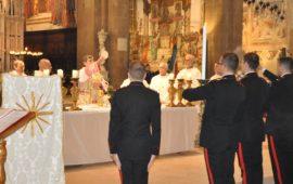 Il cardinale Giuseppe Betori alla celebrazione della Virgo Fidelis 2019 a Firenze