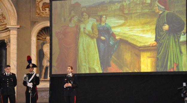 Cerimonia in Palazzo Vecchio a Firenze. Premiati 28 marescialli da 110 e lode