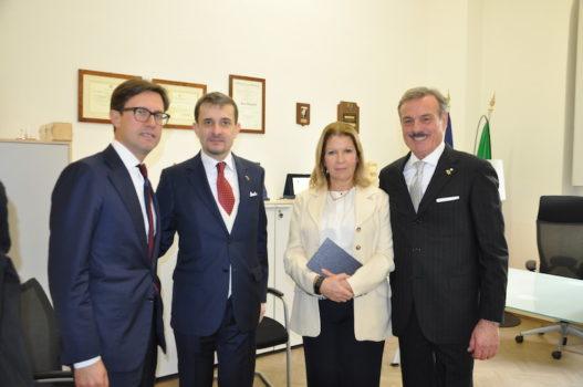 da sin Dario Nardella, George Bologan, Laura Lega, Paolo Fagiolini