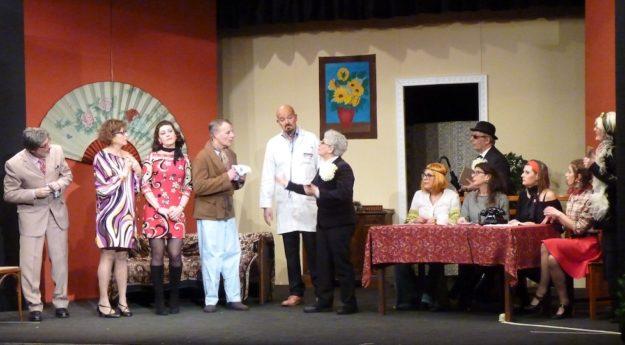 Il buonumore a teatro: una delle recite di Teatrotary