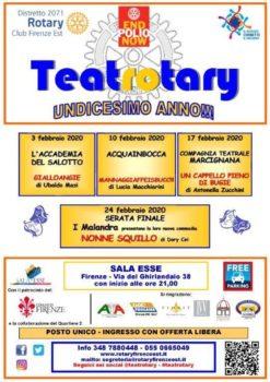 Il cartellone di Teatrotary 2020