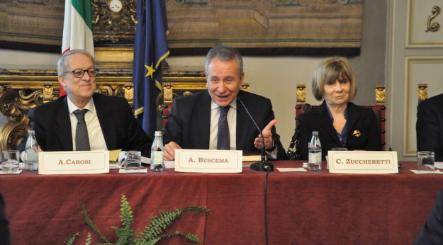 Il presidente della Corte dei Conti Angelo Buscema al convegno di Firenze
