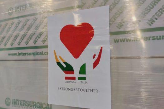 Solidarietà dalla Lituania all'Italia
