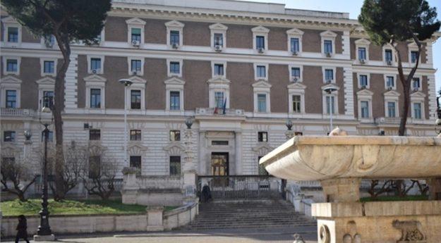 Il palazzo del Viminale sede del Ministero dell'Interno