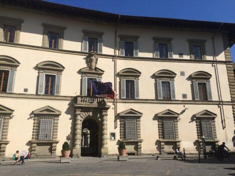 Palazzo Sacrati Strozzi sede della Giunta della Regione Toscana