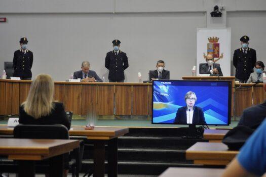 Il video messaggio di Catherine De Bolle, direttore di Europol