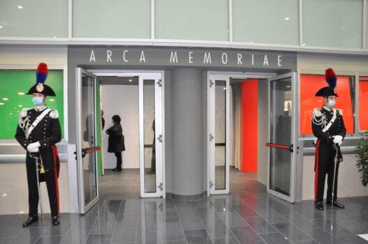 L'ingresso del nuovo polo museale alla Scuola Marescialli