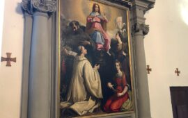 Restaurata a Cortona l' 'Immacolata Concezione' di Andrea Commodi