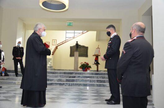 La visita del vescovo Cetoloni al Comando provinciale di Grosseto