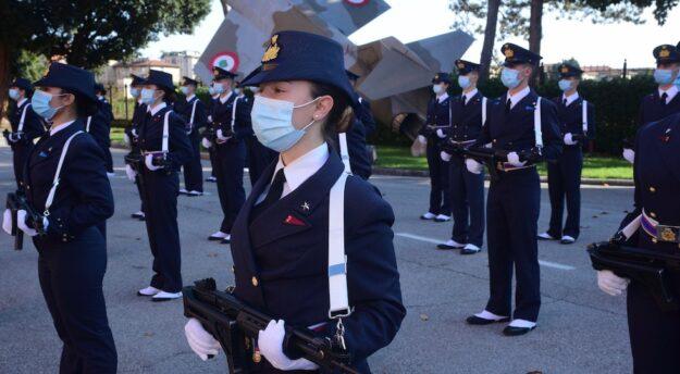 Allievi del corso Rigel alla Scuola Militare Aeronautica Douhet