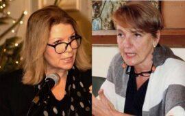 I prefetti Laura Lega (a sin.) e Alessandra Guidi
