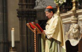 Il cardinale Giuseppe Betori arcivescovo di Firenze