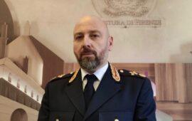 Andrea-Di Giannantonio nuovo capo della Squadra Mobile di Firenze